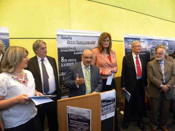 ICHR hosted Kashmir EU Week in the European Parliament